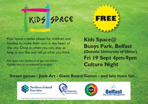 KidsSpace at Culture Night