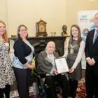 Consumer Council, Healthy Places Highly Commended (Jenny Robinson, Sinead Dyan, Vivien Blakely, Scott Kennerley) with Lord Mayor Cllr Nuala McAllister